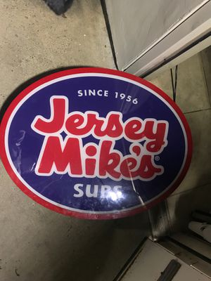 Jersey Mike's sign for Sale in San Diego, CA