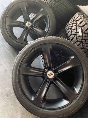 """20"""" Challenger Charger Hemi RT Wheels Rims Tires for Sale in Downey, CA"""