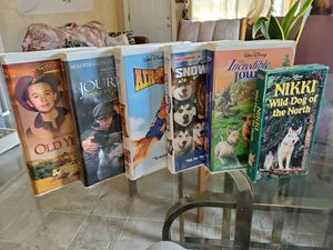Dog vhs movies for Sale in Stockton, CA