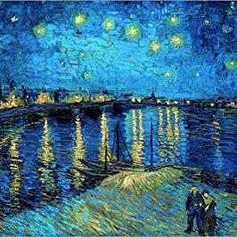 "Van Gogh ""Night Stars"" unframed print for Sale in Hollywood, FL"