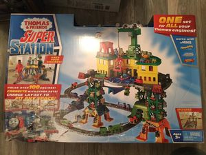 Thomas and friends super station for Sale in Plain City, OH