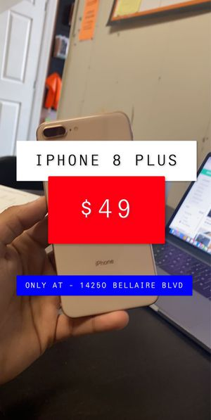 $49 iPhone 8 Plus / FREE CASE for Sale in Houston, TX