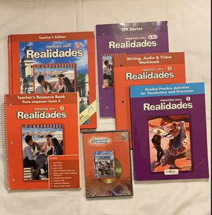 Prentice Hall REALIDADES Spanish Curriculum - Homeschool for Sale in Federal Way, WA