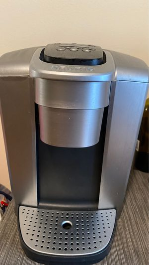 Keurig® K-Elite™ Single Serve K-Cup® Pod Hot & Iced Coffee Maker in Brushed Silver for Sale in Canton, MA