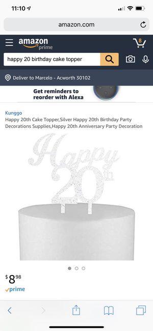 Cake topper for Sale in Acworth, GA