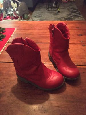 Girl's Red Boots for Sale in New Haven, IN