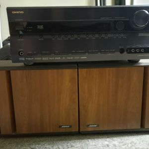 Onkyo THX Stereo Receiver and Bose Speakers for Sale in Murrieta, CA