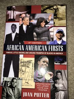 African American Firsts (Blacks In America) for Sale in Alexandria,  VA