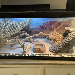40 Gallon Terrarium With Folding Lid for Sale in Lake Forest, CA