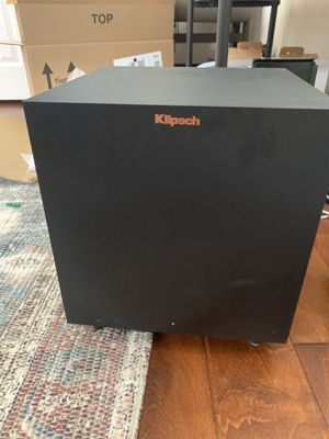 "Klipsch R-8SW 150 watt 8"" subwoofer for Sale in Henderson, NV"