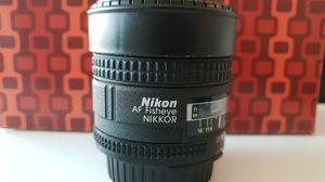 Nikon 16mm Fisheye Lens for Sale in Miami, FL