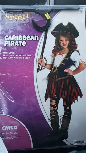 Girls Pirate Costume for Sale in Moreno Valley, CA