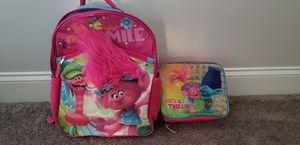 Kids Trolls backpack and lunch bag for Sale in Suwanee, GA