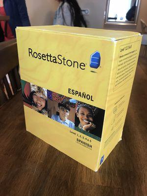 Spanish Rosetta Stone for Sale in Lynnwood, WA