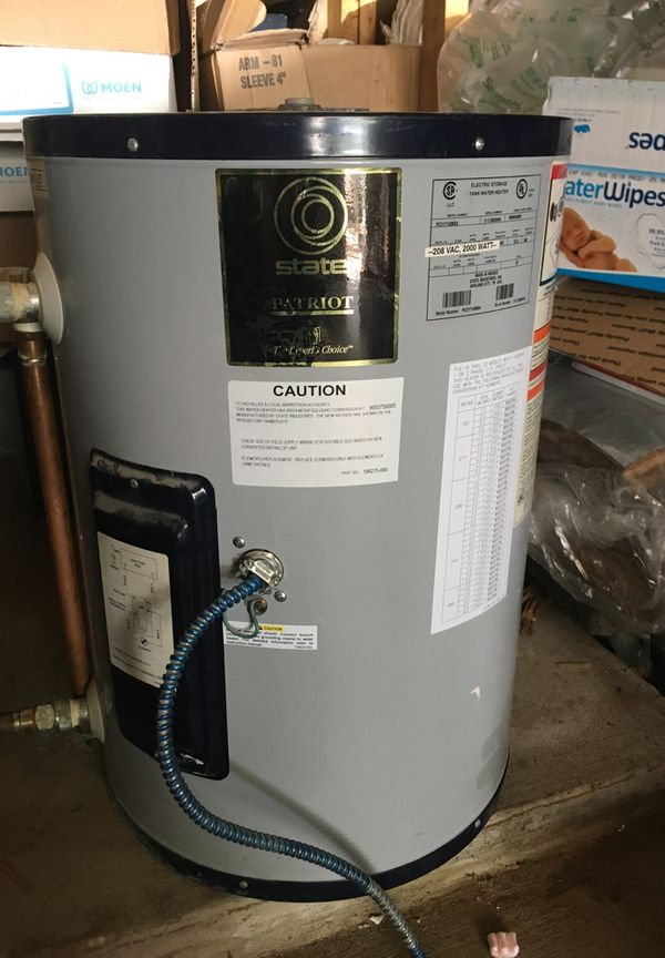 15gal commercial water heater