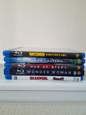 Marvel and DC Mixed Blurays for Sale in Westminster, CO