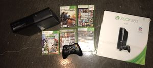 Xbox 360, games, controller & 250G hard drive for Sale in Corpus Christi, TX