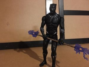 Collection of medium Black Panther Action Figures for Sale in Houston, TX