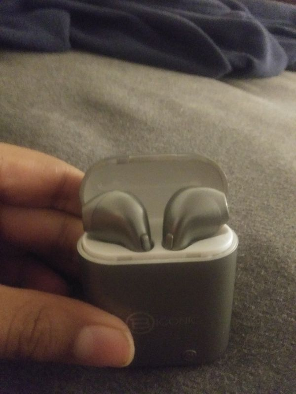 Biconic wireless earbuds