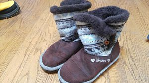 Girl Sketchers winter boots, size 3 for Sale in San Diego, CA