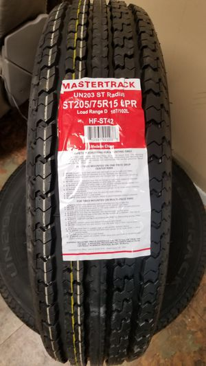 Mastertrack 205/70R15 Trailer Tire for Sale in Bryan, TX