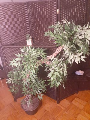 Luxury Japanese Fruticosa Tree, Handmade Artificial Plant, Replica Japanese Tree Made With Real Bark and Synthetic Leaves , 165 CM Tall for Sale in Washington, DC