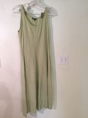 Eileen Fisher green tank dress for Sale in North Las Vegas, NV