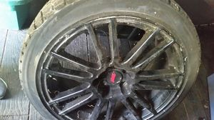 2011 WRX STI STOCK RIMS WINTER TIRES for Sale in Jackson, NJ