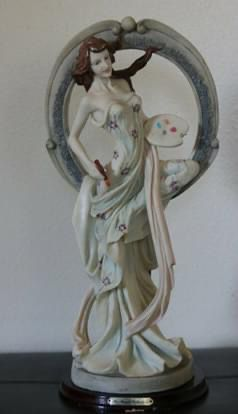 """Collectible """"The Monet Collection"""" Figurine 29""""H. A Beautiful Lady's Statue for Sale in Corona, CA"""