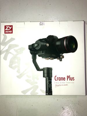NEVER USED: Zhiyun Crane Plus 3-Axis Gimbal for Sale in Miami Beach, FL