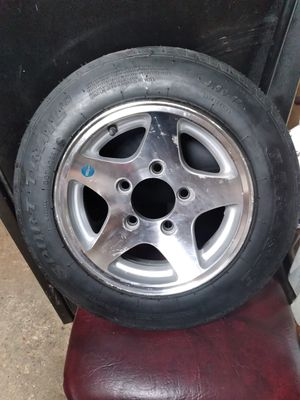 Speciality trailer wheel size 4.80-12 for Sale in Dallas, TX