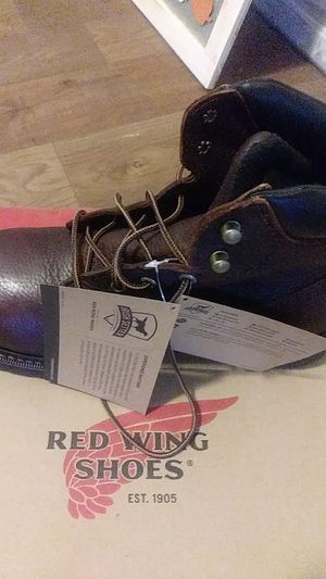 Red Wing Steal Toe Boots for Sale in San Antonio, TX