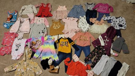 Baby Girl Size 12 Month Clothing Lot for Sale in Lake Stevens, WA