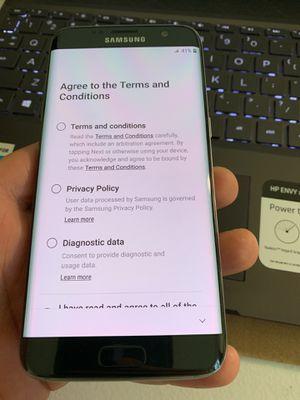 Samsung galaxy s7 edge 32GB GSM unlocked for Sale in Richmond, VA