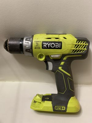 RYOBI 18V 2-SPEED CORDLESS 1/2 in COMPACT DRILL ( USED tool only ) for Sale in Miami, FL