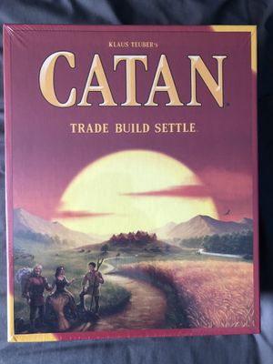 New Settlers of Catan board game for Sale in San Francisco, CA