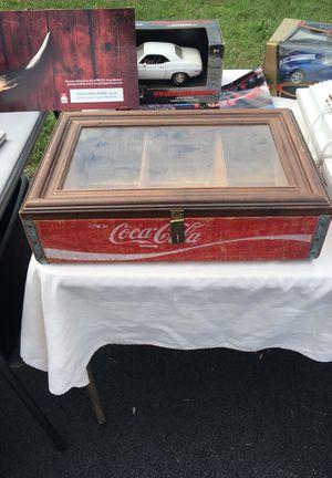 Coca Cola box made into a display for Sale in Christiansburg, VA