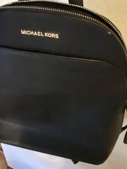 Micheal Kors Black Leather Backpack for Sale in Seattle,  WA