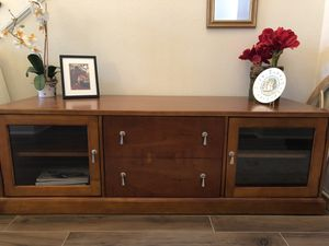 Media console - entertainment center for Sale in Tomball, TX