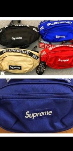 SUPREME WAIST BAG / FANNY PACK / POUCH / OVER SHOULDER / SLING BAG for Sale in Long Beach,  NY