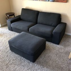 IKEA Sofa Couch With Ottoman for Sale in Scottsdale,  AZ