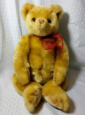 "TY Classics Yesterbear 1999 18"" Yellow Gold Teddy Bear Pre Beanie Babies Retired Collectable Toy Plush for Sale in Chicago, IL"