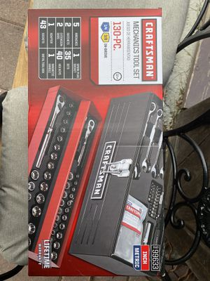 Craftsman 130 pc tool set-new for Sale in Brownsville, TX