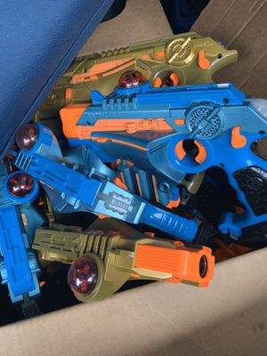 Nerf laser tag guns for Sale in Marysville, WA