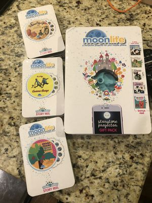 Moon lite set with 8 books! for Sale in Arlington Heights, IL