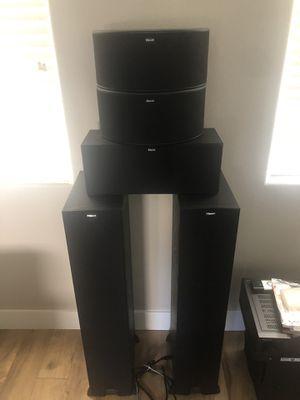 Klipsch surround sound with Pioneer receiver. for Sale in Clovis, CA