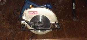 Ryobi circular hand saw for Sale in Houston, TX