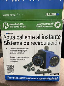 INSTANT HOT WATER /Recirculating System for Sale in Corona,  CA