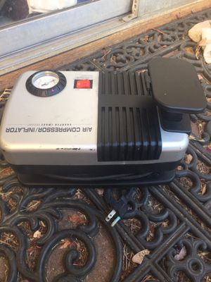 Air compressor /inflator by sharper image for Sale in Allen, TX