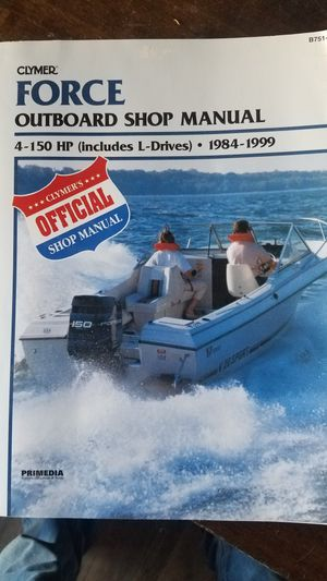 Force 150 outboard boat motor repair manual for Sale in Chandler, AZ